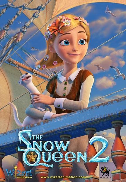 دانلود انیمیشن ملکه برف The Snow Queen 2 2015