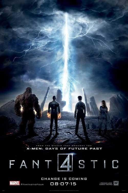 دانلود فیلم چهار شگفت انگیز 4 The Fantastic Four 4 2015