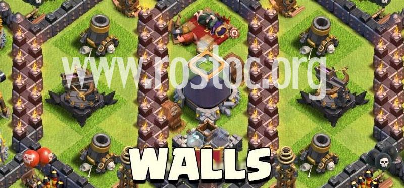 دیوار های سطح بالا را در کدام قسمت ها قرار دهیم ؟