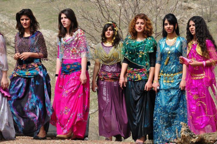 لباس های محلی کردی+عکس