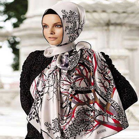 شیک ترین مدل های روسری