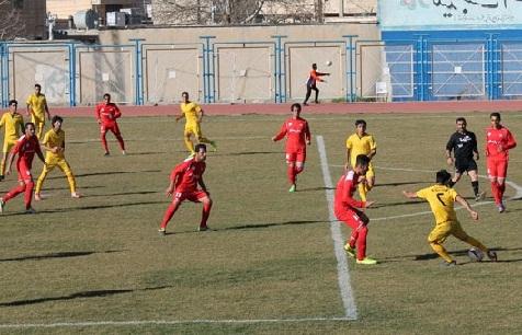 دومین شکست نماینده فوتبال کرستان در لیگ دسته دو ایران