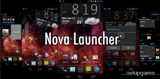 دانلود لانچر Nova Launcher Prime 4.1.0 اندروید