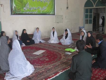 شرکت حلقات شجره طیبه صالحین در نماز جمعه