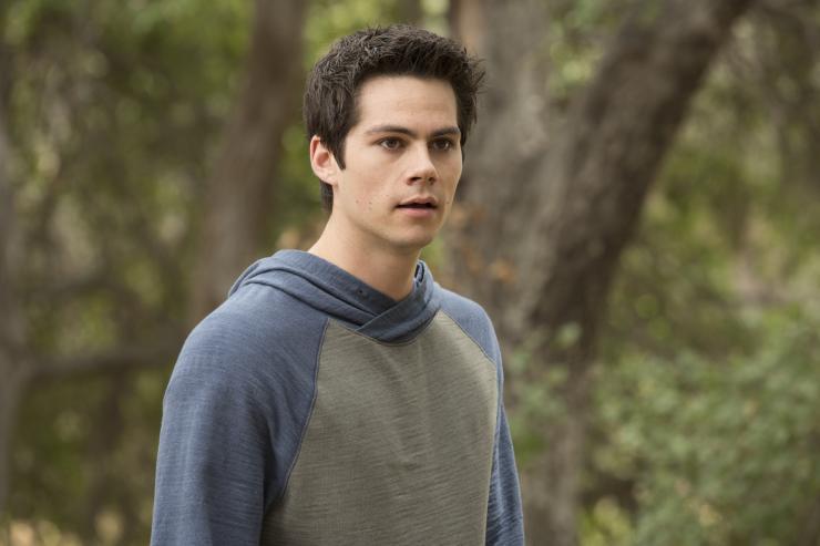 عکسهای گیف استایلز در سریال teen wolf