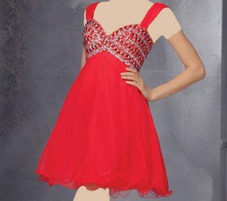 مدل لباس شب کوتاه ۲۰۱۵