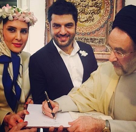 عکس های شخصی سام درخشانی + ازدواج سام درخشانی