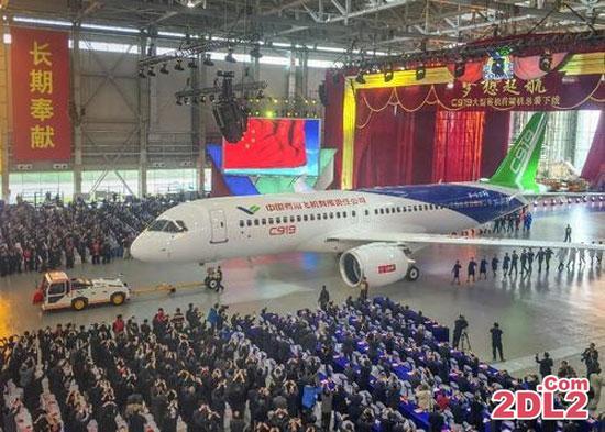 اولین هواپیمای مسافربری ساخت کشور چین