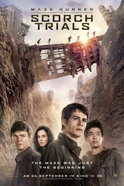 دانلود فیلم جدید خارجی The Maze Runner 2 The Scorch Trials 2015