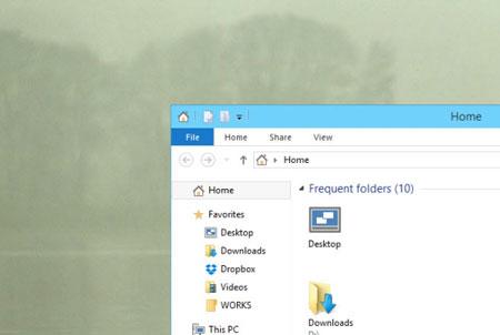 غیرفعال کردن سایه اطراف پنجره های ویندوز ۱۰