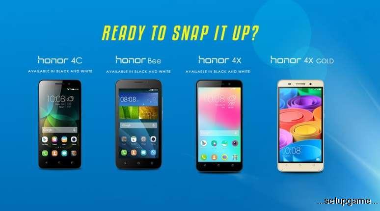 ابتدای 2016 زمانی برای به روز رسانی گوشی های سری هواوی Honor