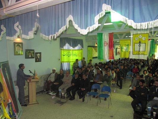اعزام 134 دانش آموز درمياني به مناطق عملیاتی جنوب كشور