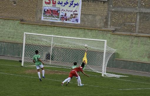 سردار بوکان از کیمیا فرآیند تهران یک امتیاز گرفت