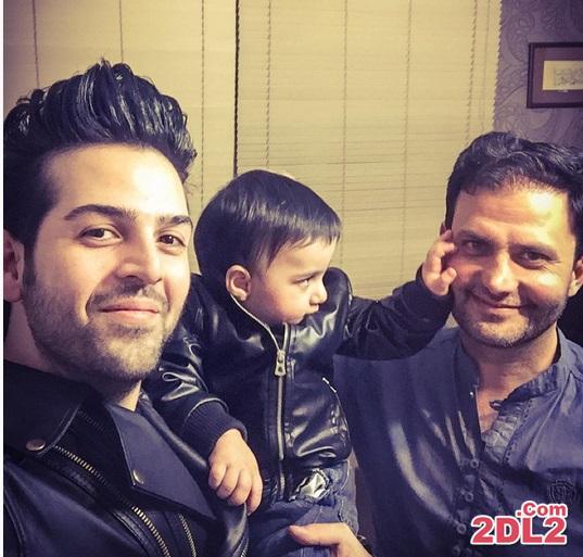عکس سلفی منتشر شده از عماد طالب زاده و پسرش در مطب دکتر