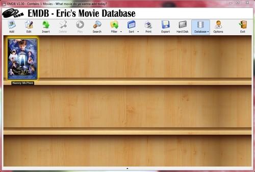 دانلود نرم افزار EMDB 2.30 برای ساخت کالکشن های فیلم و سریال