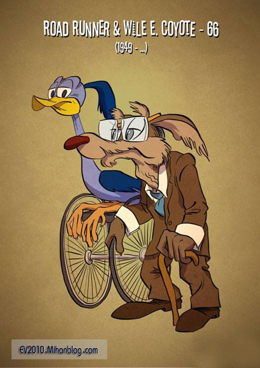 حال فعلی شخصیت های کارتونیev2010.mihanblog.com