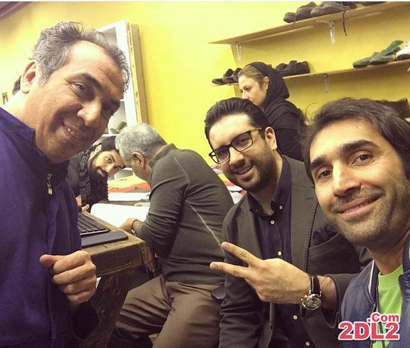 عکس منتشر شده از امید حاجیلی در زندان در حاشیه