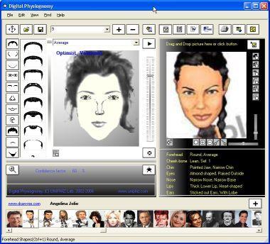 نرم افزار  چهره نگاریdigital physiognomy
