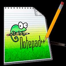 دانلود نرم افزار دفترچه یاداشت و ویرایش متن  بسیار قدرتمند و کاربردیNotepad++ 6.8.5