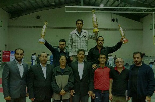 کردستان عنوان سوم رقابت های 11 جانبه جودو را کسب کرد