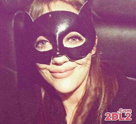 عکس جدید مریم اوزرلی در شب هالووین