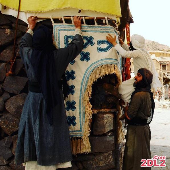 محمد (ص) در صحنه آماده سازی کعبه
