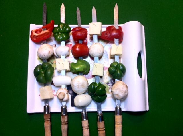 آموزش و طرز تهیه سالاد سبزیجات کبابی