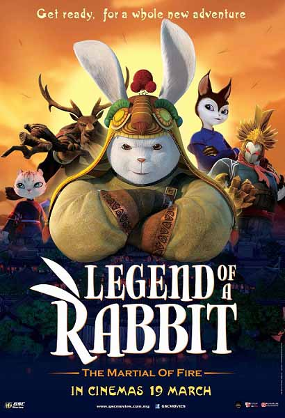 دانلود انیمیشن جدید Legend of a Rabbit The Martial of Fire 2015