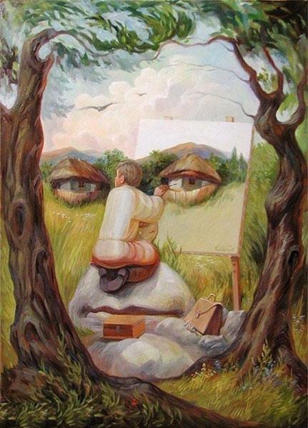 خطاهای دید جالب و دیدنی