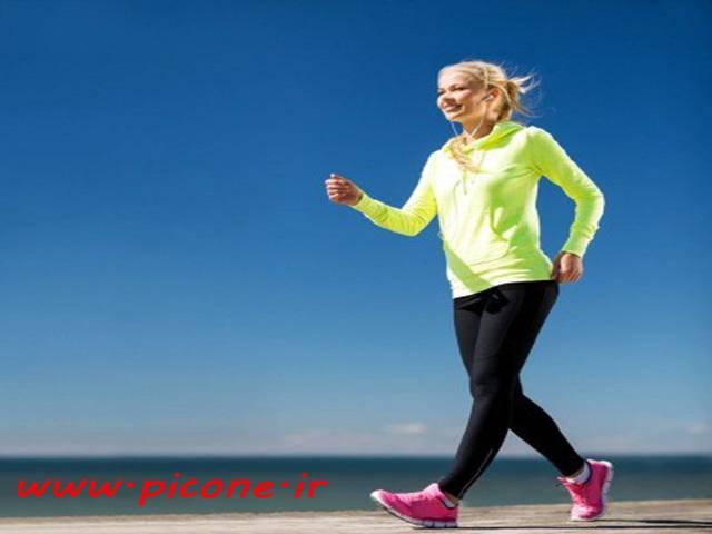 تغییرات لحظه ای در بدن پس از پیاده روی