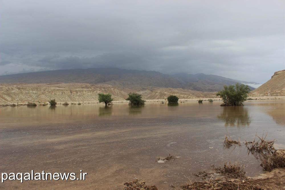بارش رحمت الهی در روستای پاقلات