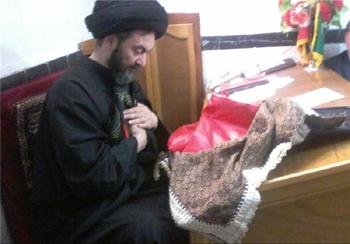 اردبیل میزبان پرچم منسوب به مرقد مطهر امام حسین(ع) و حضرت عباس(ع) میشود