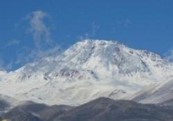 تصاویر زیبا از قله برفی سبلان