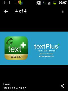 نرم افزار textplus Gold برای اندروید