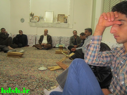 جلسه قرآن منزل علی قانع(عباسعلی)