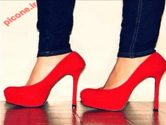 مدل کفش قرمز مجلسی دخترانه