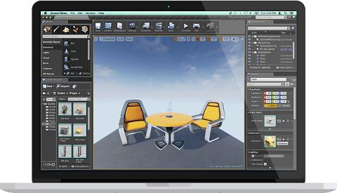 دانلود Unreal Engine 4.11.0 نرم افزار ساخت بازی های رایانه ای
