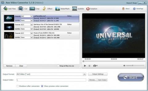 دانلود Ann Video Converter Pro v7.3.0 نرم افزار تبدیل فایل های ویدئویی