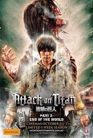 دانلود فیلم Attack On Titan 2 End of the World 2015