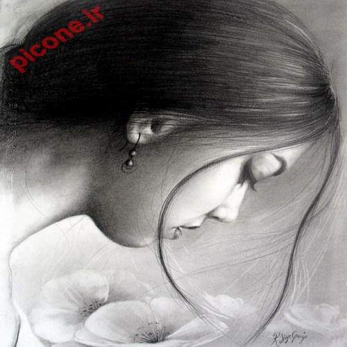 نقاشی سیاه و سفید