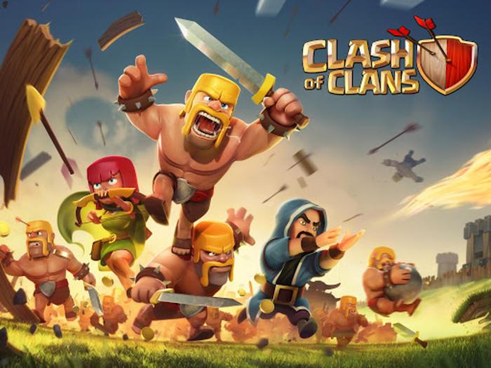 دانلود Clash Of Clans نسخه 7.65(آخرین آپدیت)
