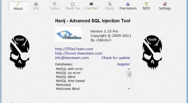 آموزش هک سایت با هویج Havij