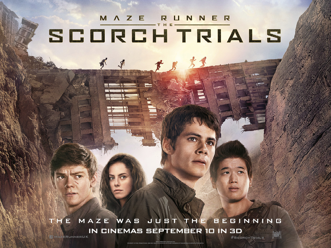 دانلود فیلم 2015 Maze Runner The Scorch Trials