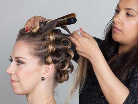 روش های مختلف برای فر کردن مو در خانه