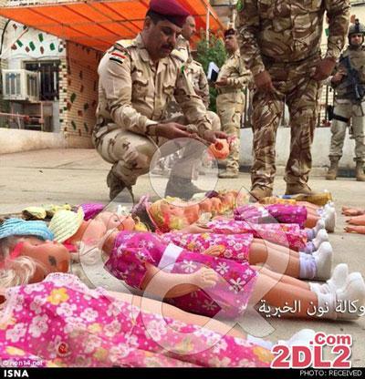 عروسک های بمب گذاری شده توسط داعش برای اربعین