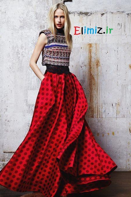 لباس مجلسی قرمز شیک