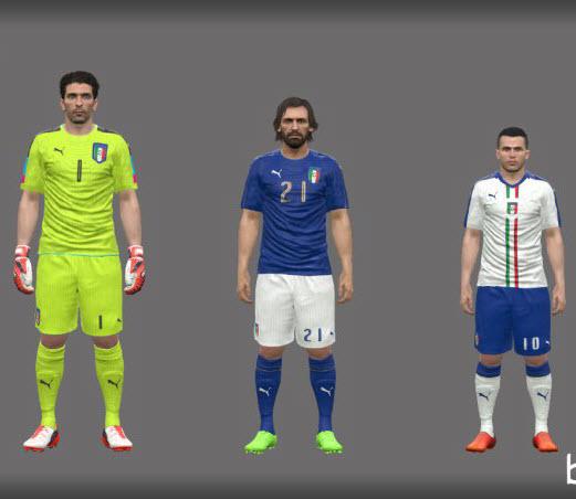 کیت ایتالیا یورو 2016