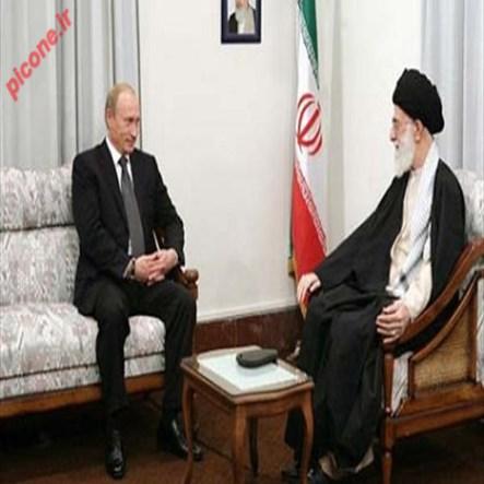 دیدار ولادیمیر پوتین با مقام معظم رهبری
