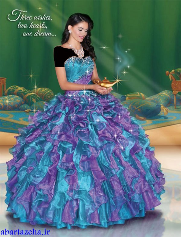 جدیدترین و شیک ترین مدل های لباس نامزدی پرنسسی
