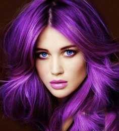 عکس جدیدترین رنگ مو های فانتزی